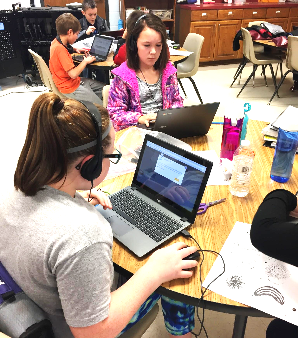 Beebe Students Participate in the Hour of Code