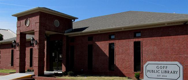 Goff Public Library at Beebe