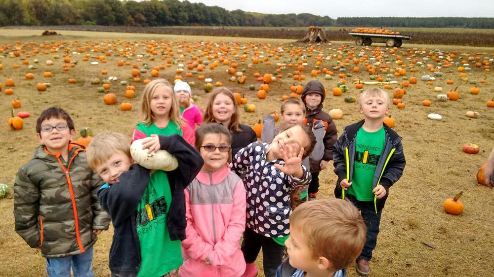 Kindergarten Pumpkin Patch Field Trip