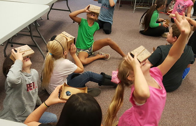 Google Expeditions Comes to Beebe Schools