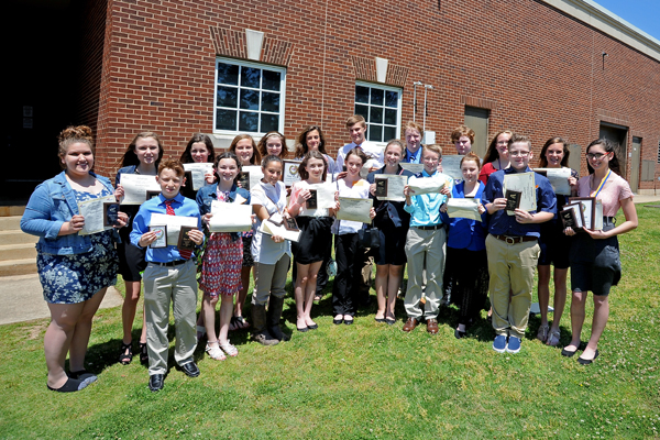 For the Seventh Year in a Row, Beebe Junior High FBLA Places First in District V FBLA Events