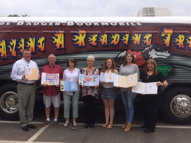 Rice Family Donates to Beebe Badger Bookmobile