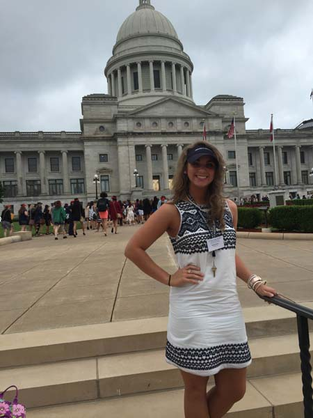Delaney Daniel Represents BHS at Girls State 2016